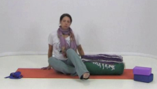 Restorative Yoga with a Bolster