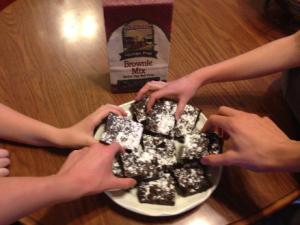 Namaste Gluten Free Brownies